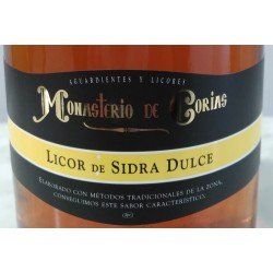 Licor de Sidra Dulce Monasterio de Corias