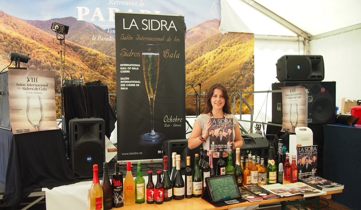 Tasting and presentation of the SISGA in the Interceltic Festival of Lorient
