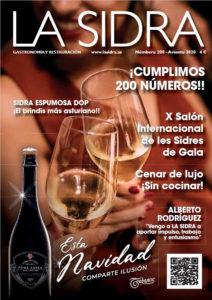 Portada revista LA SIDRA númberu 200