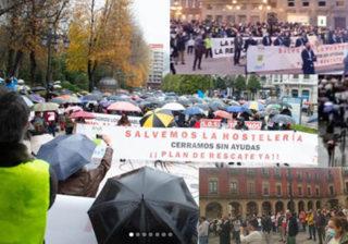 Movilizaciones de la Hostelería Asturiana